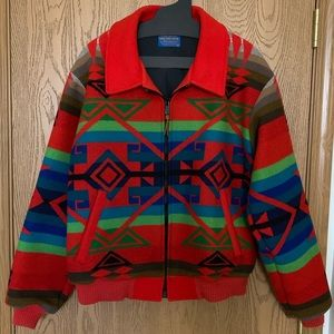Pendleton wool bomber jacket